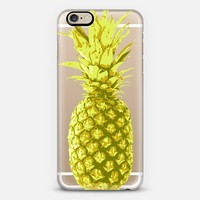 Yellow Pineapple iPhone 6 case by Sarah Marie | Casetify