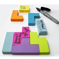 Block Sticky Notes - Tetris Shaped Sticky Notes