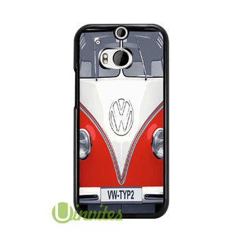 Vintage VW Volkswagen Red Typ  Phone Cases for iPhone 4/4s, 5/5s, 5c, 6, 6 plus, Samsung Galaxy S3, S4, S5, S6, iPod 4, 5, HTC One M7, HTC One M8, HTC One X