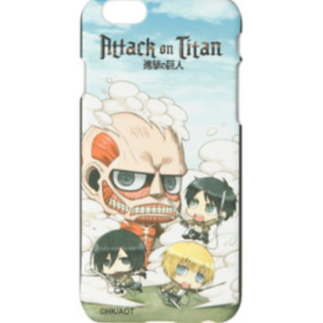 Attack On Titan Chibi iPhone 6 Case