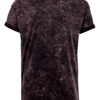 Burgundy Wash Roller T-shirt - View All Sale - Sale