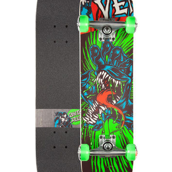 Santa Cruz X Marvel Venom Hand Mini Complete Skateboard Multi One Size For Men 26051395701