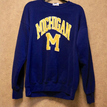 Vintage University of Michigan sweatshirt