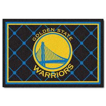 Golden State Warriors NBA 5x8 Rug (60x92)