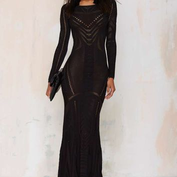 Super Trash Drease Knit Maxi Dress