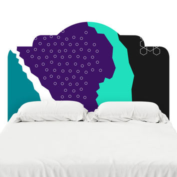 Memories of Seated Design Headboard Decal