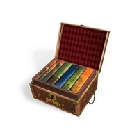 Walmart: Harry Potter Hardcover Boxed Set: Books #1-7 [With Stickers]