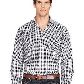 Ralph Lauren Poplin Sport Shirt - Beauty Ticks