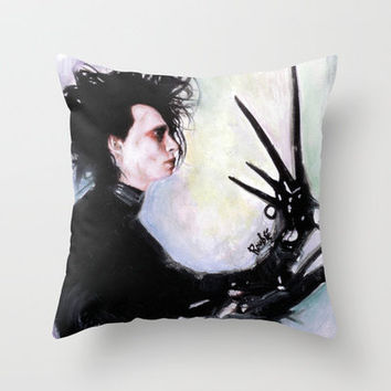 The story of an uncommonly gentle man. Throw Pillow by Rouble Rust | Society6