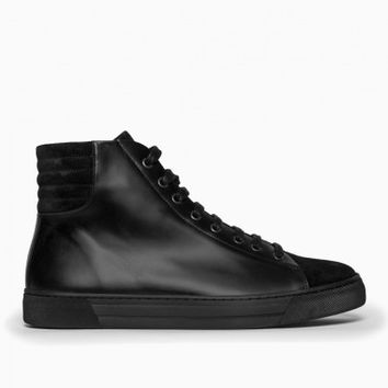 Fidis high-top sneakers from the S/S2015 Silent Damir Doma collection in black.
