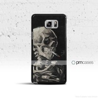 Skull & Cigarette Case Cover for Samsung Galaxy S & Note Series