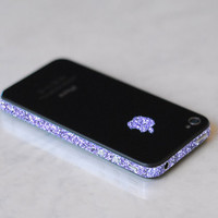 Original iPhone 4 GSM AT&T Antenna Wrap (Sparkling Amethyst)