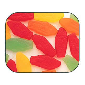 Mini Swedish Fish Candy - Assorted: 5LB Bag