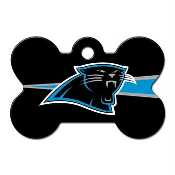 Carolina Panthers Bone ID Tag