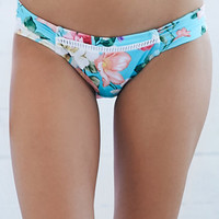 Rhythm Bonita Tropic Print Bikini Bottom at PacSun.com
