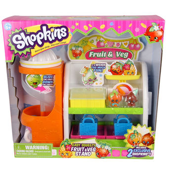 Shopkins™ Easy Squeezy Fruit & Vegetable Stand