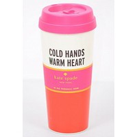 Kate Spade New York Thermal Mug- Warm Heart