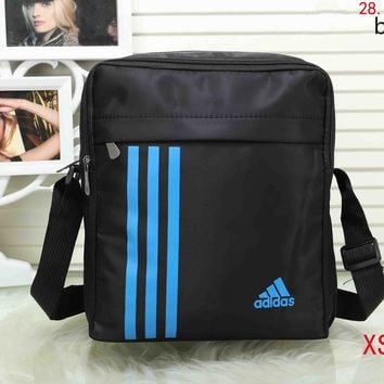 ADIDAS 2018 new men and women with stylish backpack F-XS-PJ-BB Blue