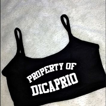 SWEET LORD O'MIGHTY! PROPERTY OF DICAPRIO BRALET