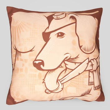 The Dogs Pillow by Jeremy Fish