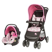 Disney's Minnie Mouse Light 'n Comfy Travel System (Minnie Garden Delight)