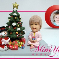 Personalized Figurine Christmas Present Kid