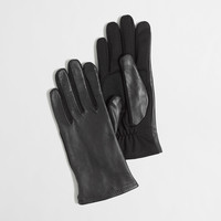 Factory leather tech gloves : AllProducts | J.Crew Factory
