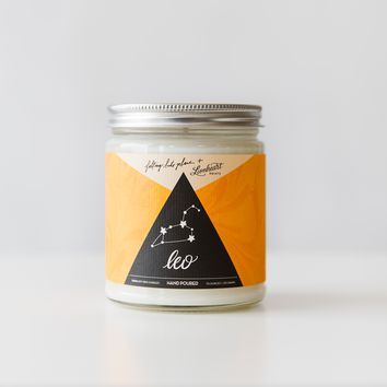 Zodiac Astrology Candle - Leo