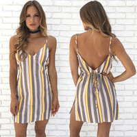 Cheap Thrills Stripe Dress