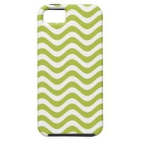 Acid And White Waves iPhone 5 Cases