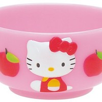 Sanrio Hello Kitty Apple Shape Bowl #0687
