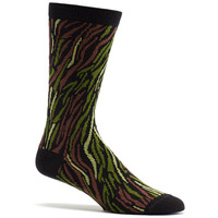 Mens Stripy Camo Sock