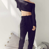 Out From Under Chill Out Ribbed Jogger Pant | Urban Outfitters