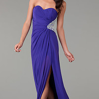 Open Back Prom Gown by Jump