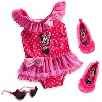 Disney Minnie Mouse Pink Swim Collection for Baby | Disney Store