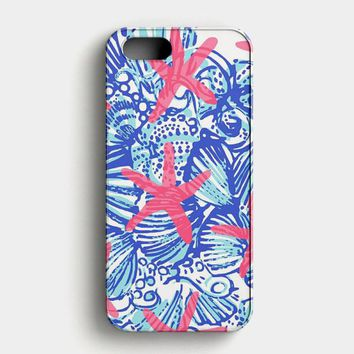 Lilly Pulitzer Pretty Escape iPhone SE Case