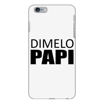 dimelo papi nicky jam reggaeton regueton  black iPhone 6/6s Plus Case