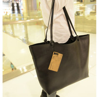15' Woman Vintage casual leather tote hand bag shoulder bag/laptop bag crossbody bag macbook bag satchel -222