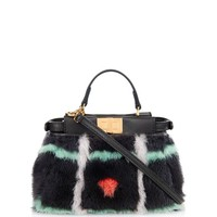 Micro Peekaboo mink-fur cross-body bag | Fendi | MATCHESFASHION.COM US