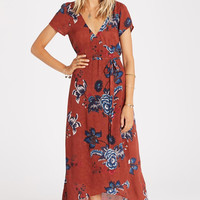 Billabong - Wrap Me Up Maxi Dress | Henna