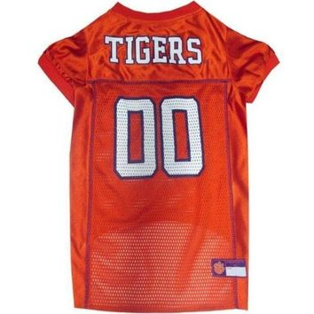 PEAPYW9 Clemson Tigers Pet Jersey