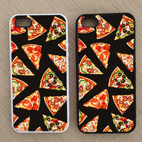 Hipster Pizza iPhone Case, iPhone 5 Case, iPhone 4S Case, iPhone 4 Case - SKU: 149