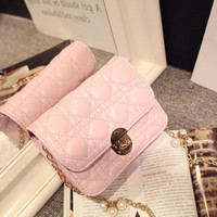 Brand Like Fashion Leather Shoulder Candy Multi Color Women Casual Messenger Bags Chic Handbag  _ 8330