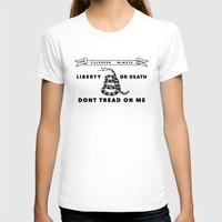 Culpeper Minutemen Flag - Authentic High Quality Version T-shirt by Flags | Society6
