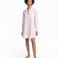 Cotton Nightshirt - from H&M