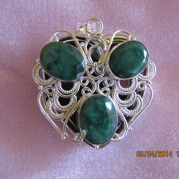 Labadorite & Silver Music Box Locket, Sterling Silver Necklace- Special Order  song list