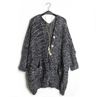 Retro Loose Cardigan Sweater BCHH from MegaFashion