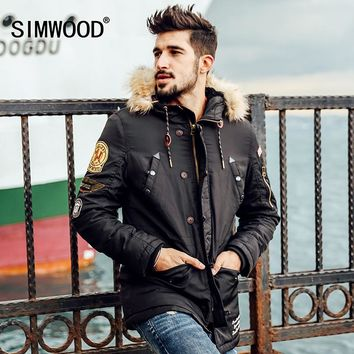 SIMWOOD Brand Men's Winter Parka/Coat
