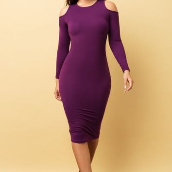 Ivana Dress - Purple