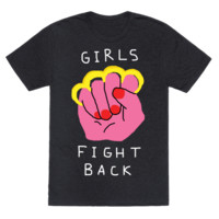 GIRLS FIGHT BACK T-SHIRT